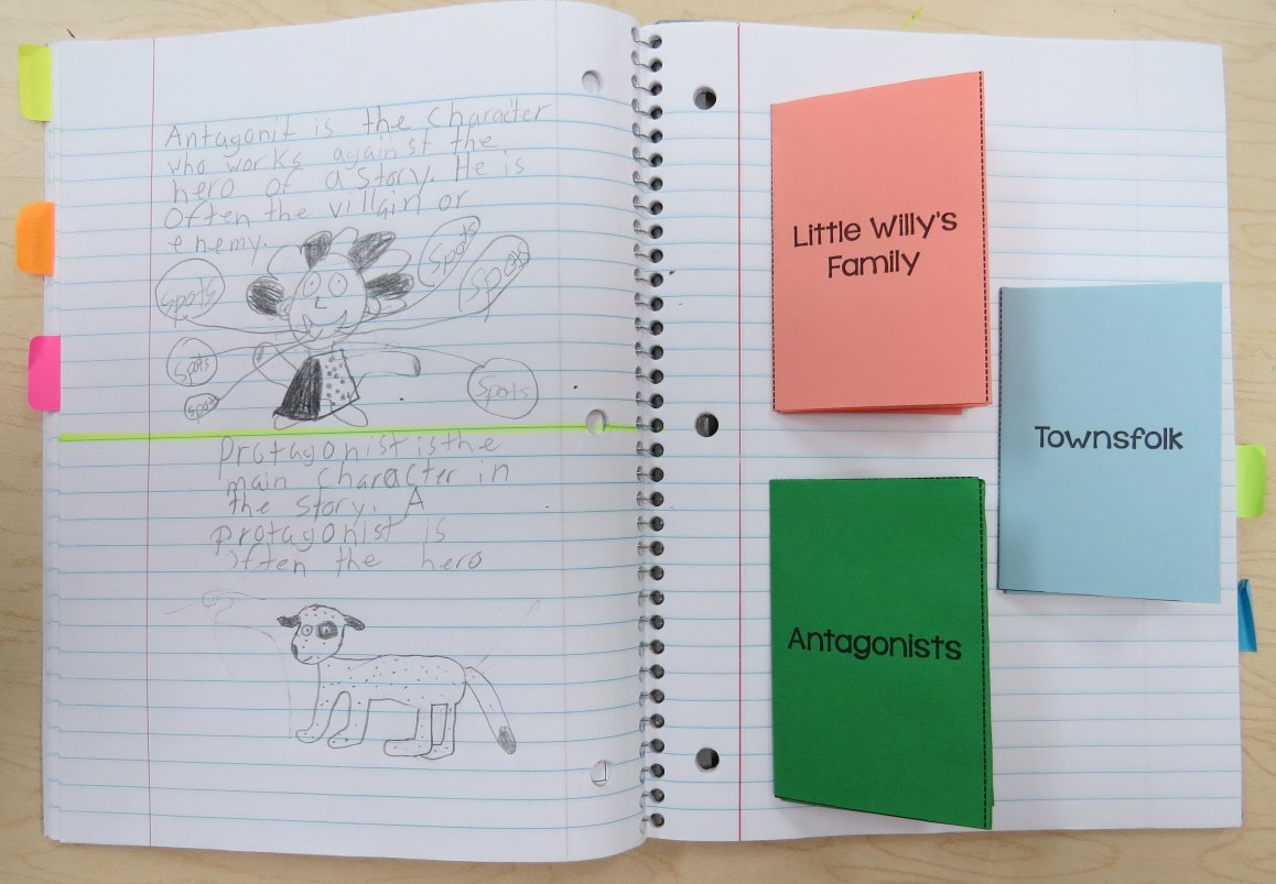 Stone Fox Character Traits Booklets