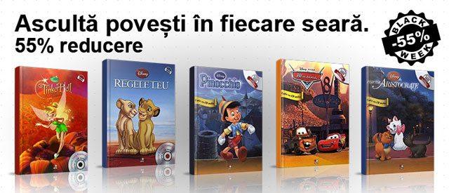 LITERA-Disney-carte-cu-CD