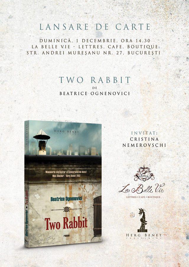 poster-lansare-two-rabbit