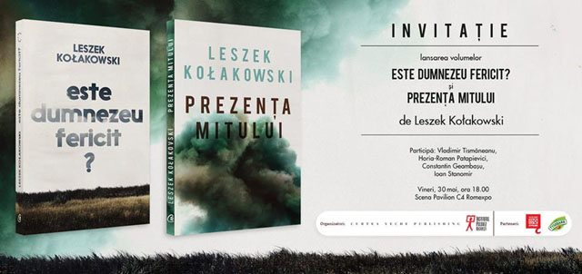 Invitatie Leszek Kolakowski