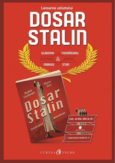 Afis lansare Dosar Stalin Carturesti Verona