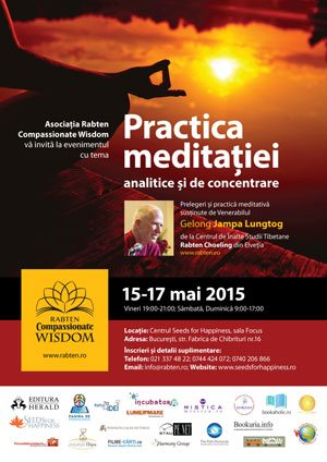 afis-web-Gelong-Jampa-la-Bucuresti-meditatia-15-17-Mai.-parteneri