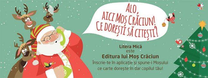Editura lui Moș Crăciun!