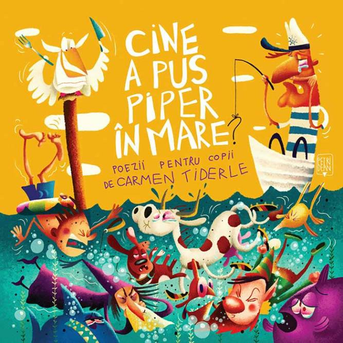 Cine a pus piper in mare