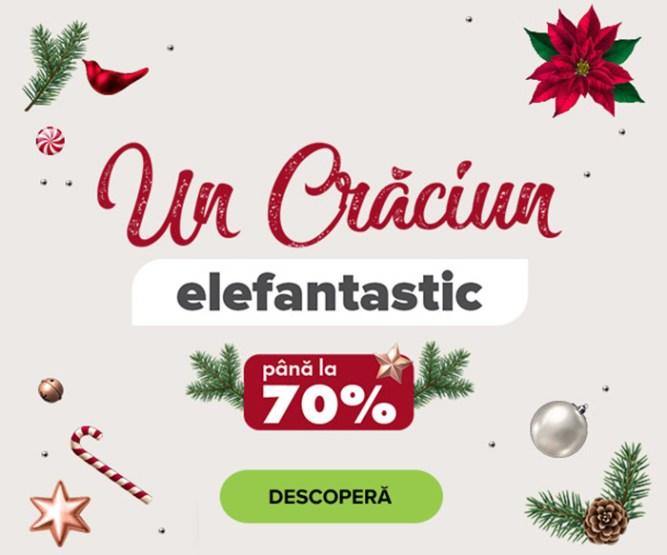Crăciun Elefantastic
