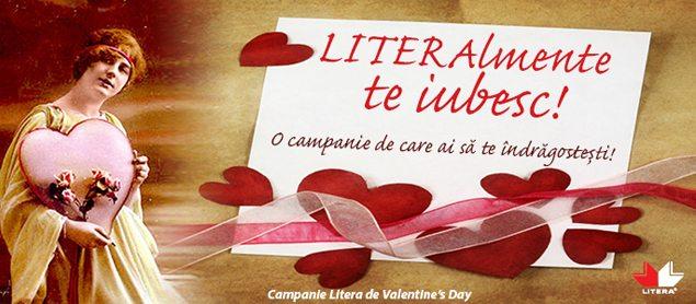 LITERAlmente te iubesc! campanie a editurii Litera in luna februarie 2013