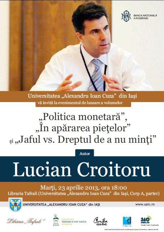 Lansare-Lucian-Croitoru-Iasi