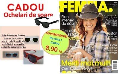 Revista_Femeia_+_cadou_-_ochelari_de_soare