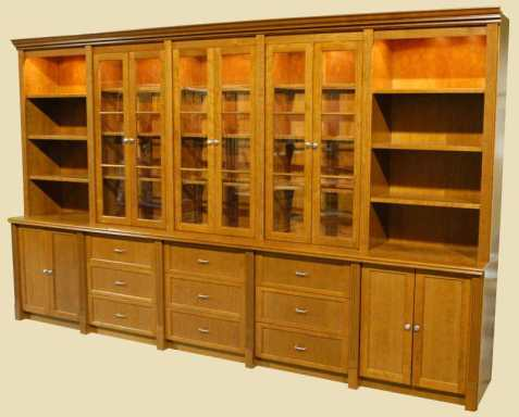 bookshelf cabinet plans