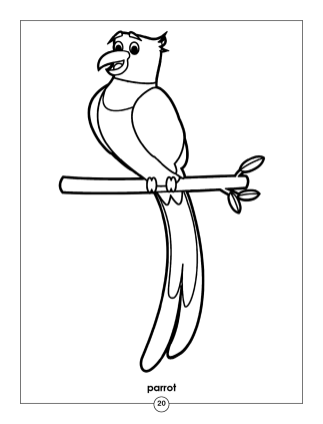 Animals Coloring Book2