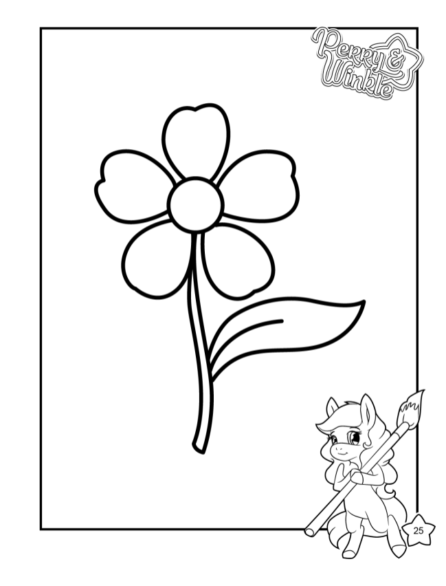 Perry & Winkle - My First Coloring Book3
