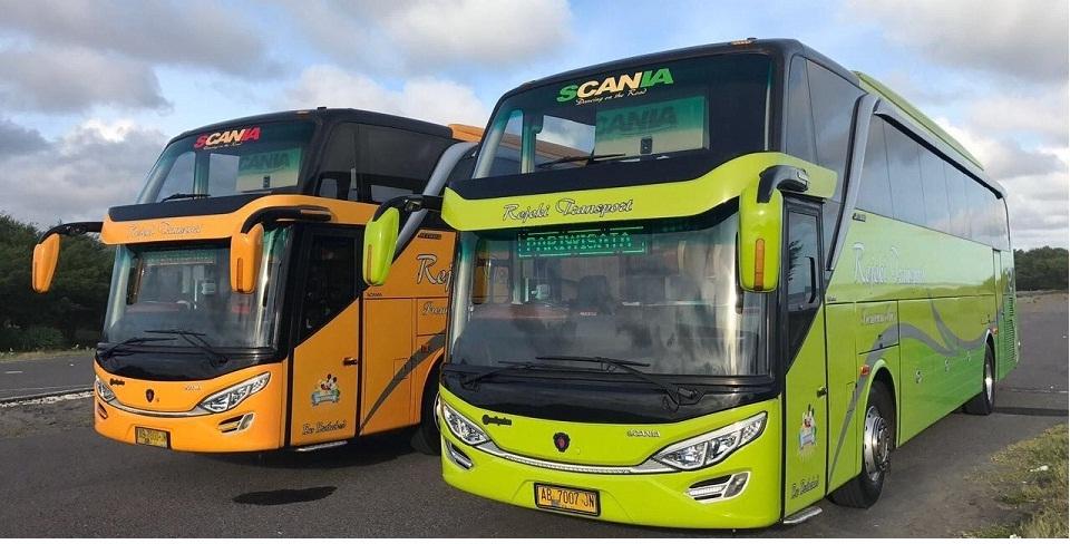 sewa bus pariwisata rejeki transport jogja rental bis wisata di yogyakarta solo magelang klaten bookwisata indonesia shd bus bersih nyaman harga murah