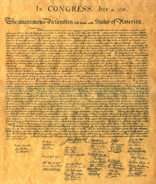 photograph about Printable Declaration of Independence Text identify Thomas Jefferson states a colon follows the phrase \