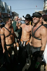 Folsom Street Fair leather guys