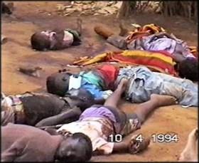 The littlest bodies in the Rwanda genocide