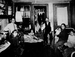 Jacob Riis tenement photograph