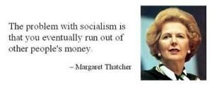 Thatcher on socialism