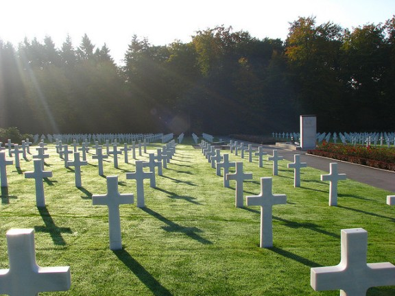 American military cemetery Luxembourg