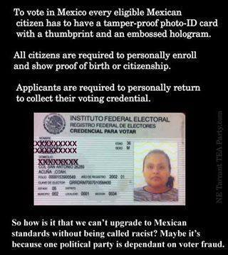 Mexico voting laws