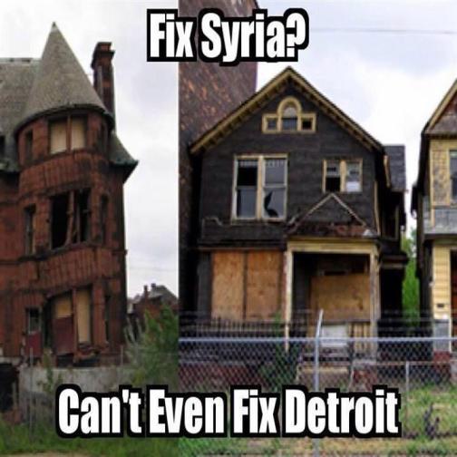 Syria = Detroit