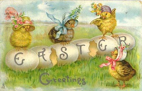 vintage-easter-chicks-n-bonnets-card