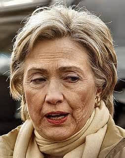 Hillary Clinton looking old