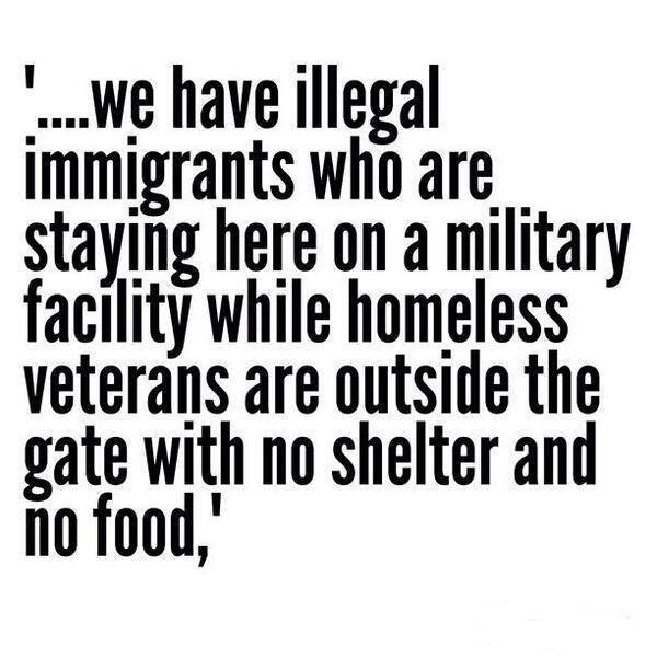 Illegal immigrants displace veterans