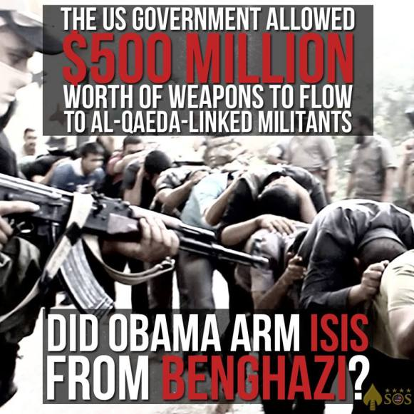 Did Obama arm ISIS