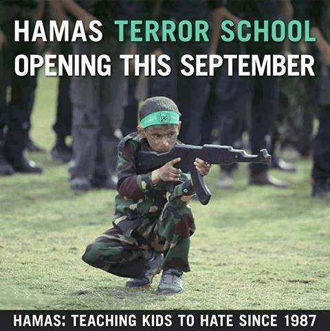Hamas teaching kids to hate