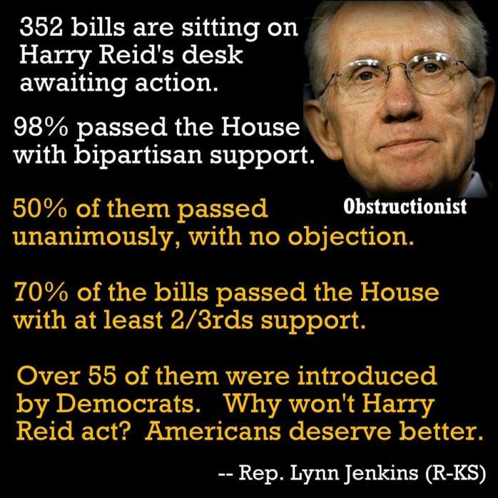 Harry Reid does  nothing