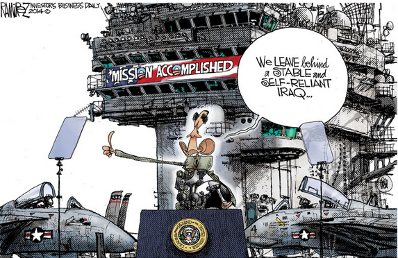 Obama's mission accomplished
