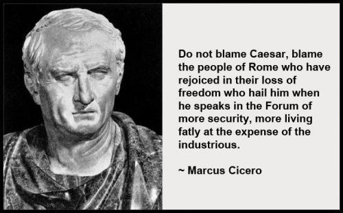 Cicero on foolish Romans