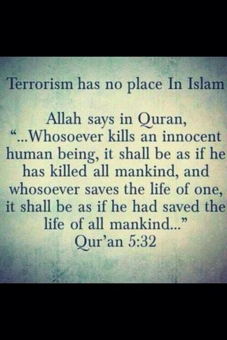 Mohammad on killing innocent human beings