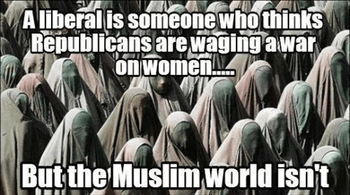 The Muslim war on women