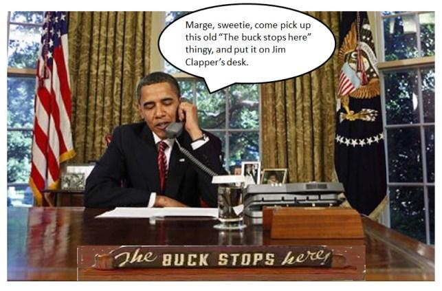 Where Obama's buck stops