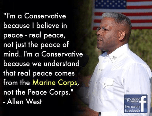 Allen West on the Marines and freedom