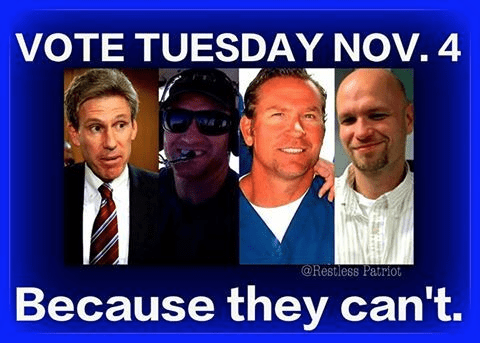 Cast your vote in honor of the Benghazi four