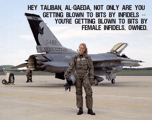 Female pilots bombing ISIS