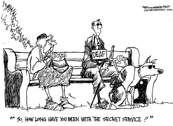 How long have you been with the secret service