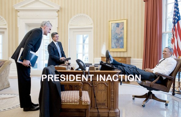 President inaction