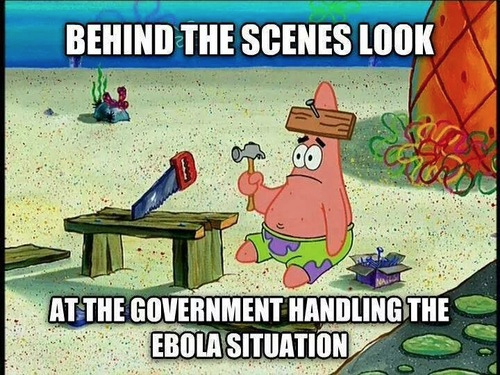 Spongebob joke about Ebola