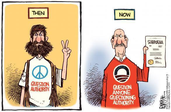 Then and now regarding questioning authority