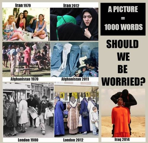 Yes spreading Islam should worry us