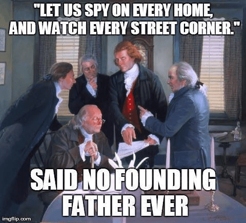 Founding Fathers on spying