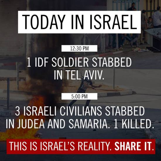 Terrorism is Israel's reality