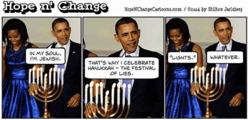 Obama and his Jewish soul