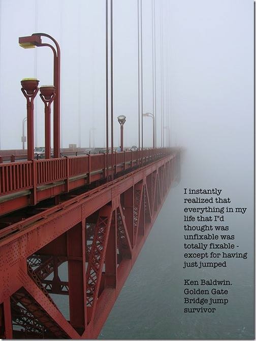 Golden Gate Bridge Suicide Survivor