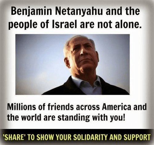 Israel and Bibi are not alone