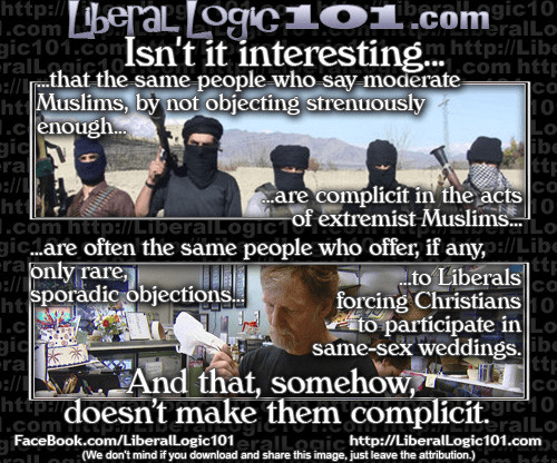 Leftists Muslims and Gay Marriage
