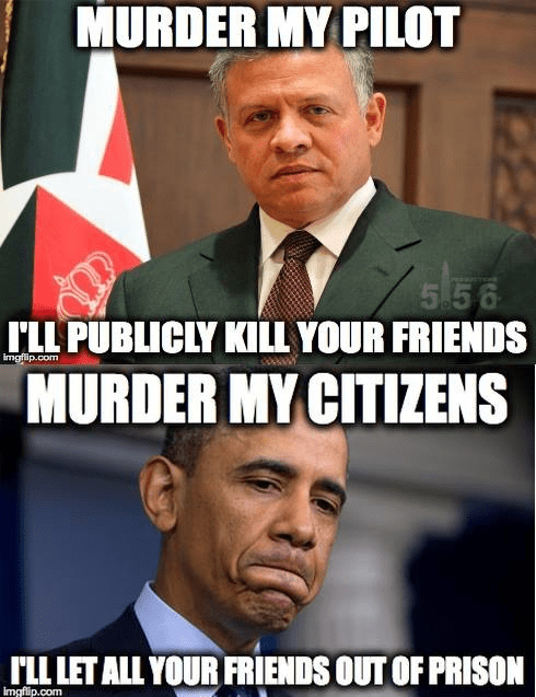 King Abdullah v Barack Obama
